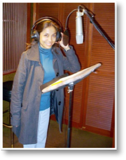 Olivia Ramos - Professional Voice over talent in Spanish. www.VoiceoversByOlivia.com